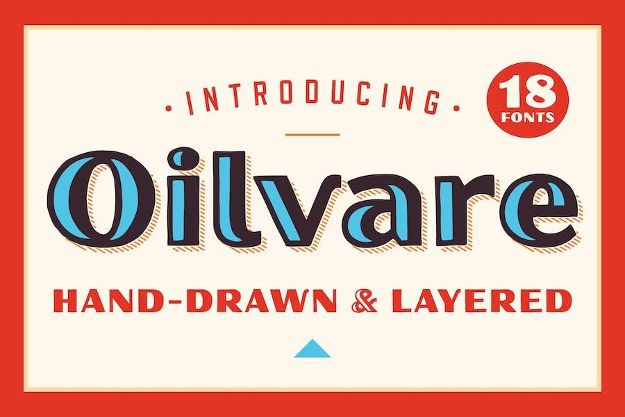Oilvare Font Family