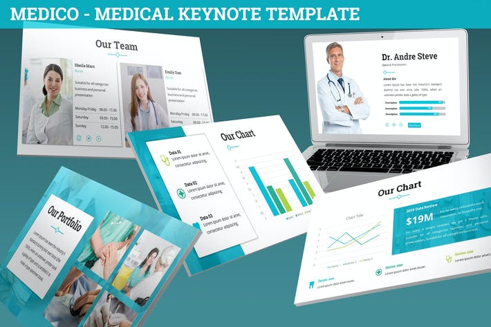 Medico - Medical Keynote Template
