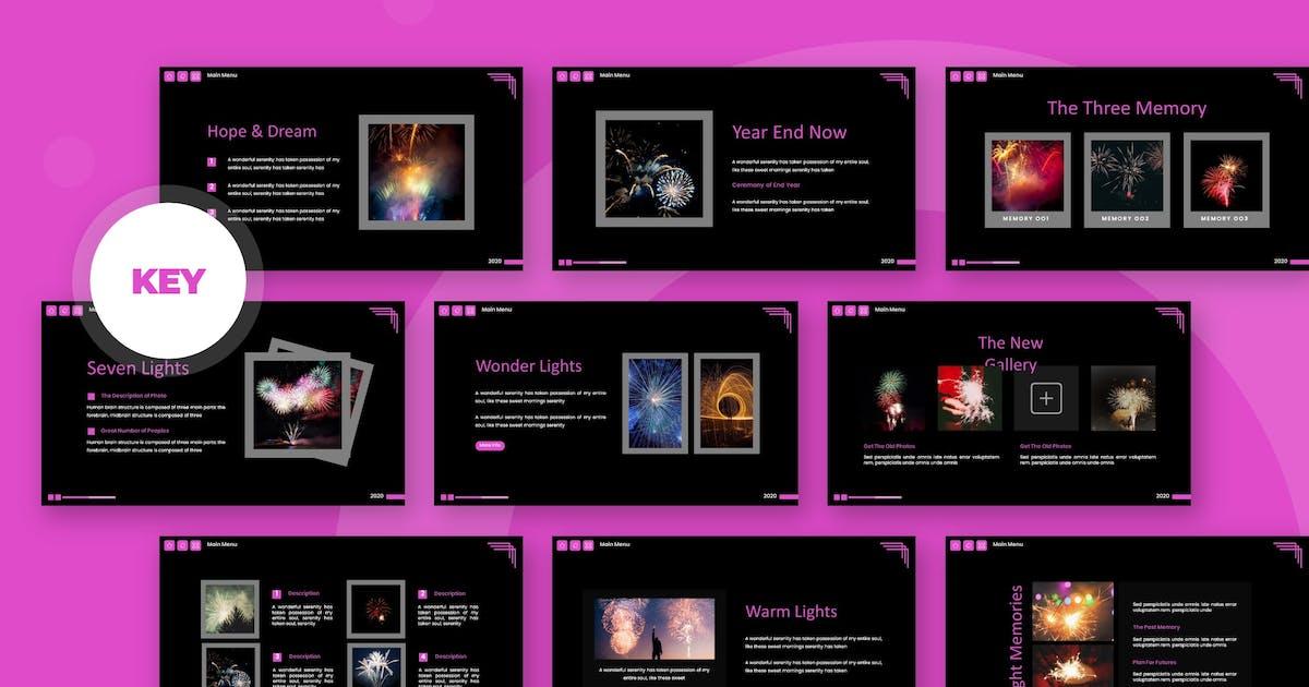 Download Color Sky - Keynote Template by karkunstudio