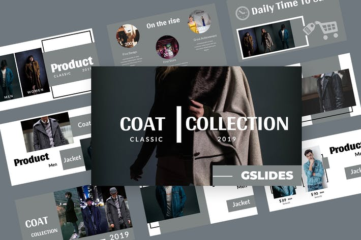 Thumbnail for Coat - Fashion Google Slides Presentation