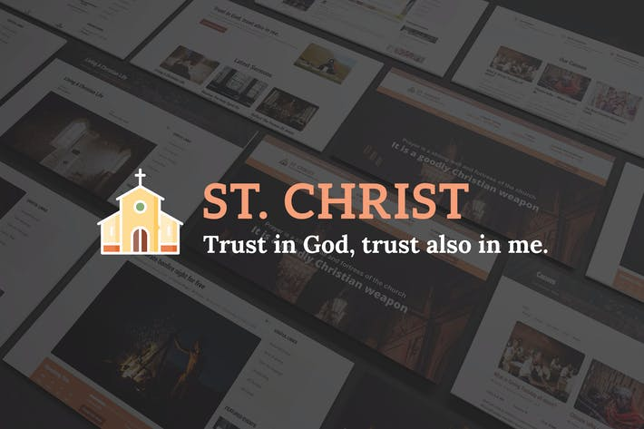 Thumbnail for St. Christ - Church & Charity Joomla Template