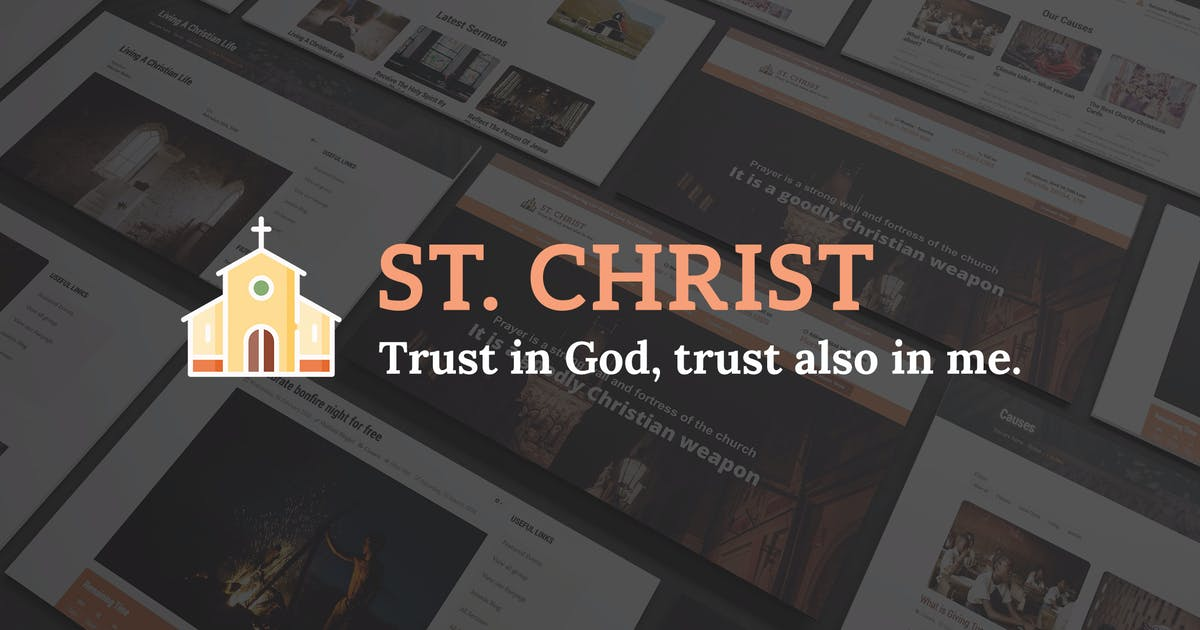 Download St. Christ - Church & Charity Joomla Template by templaza