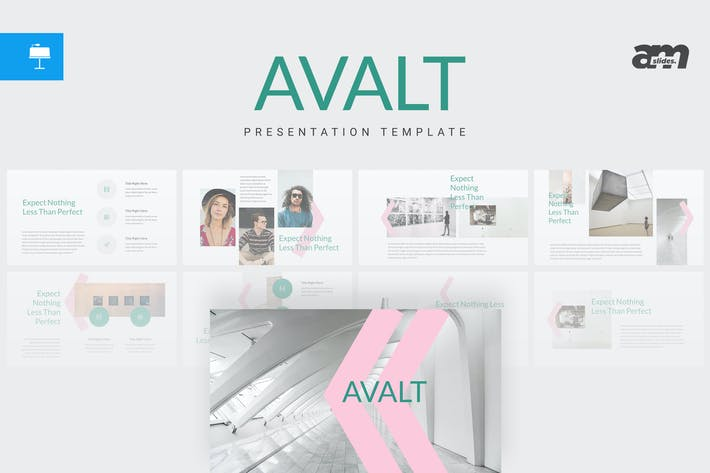 Thumbnail for Avalt - Keynote Template