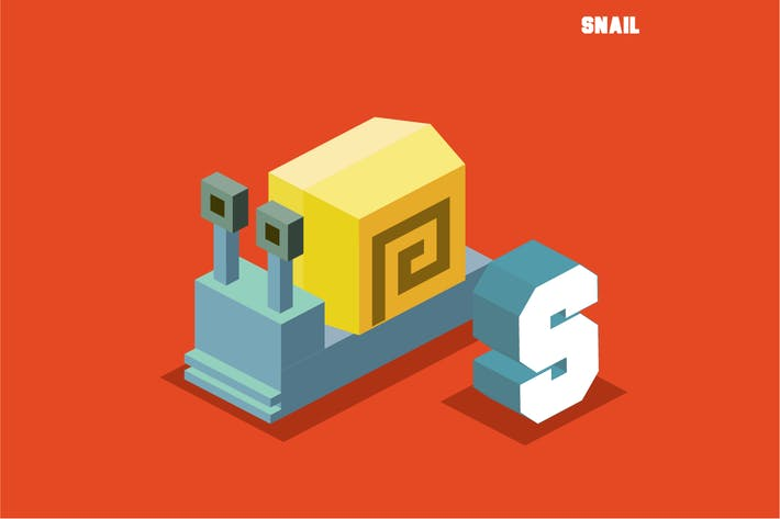 Thumbnail for S for snail, Animal Alphabet