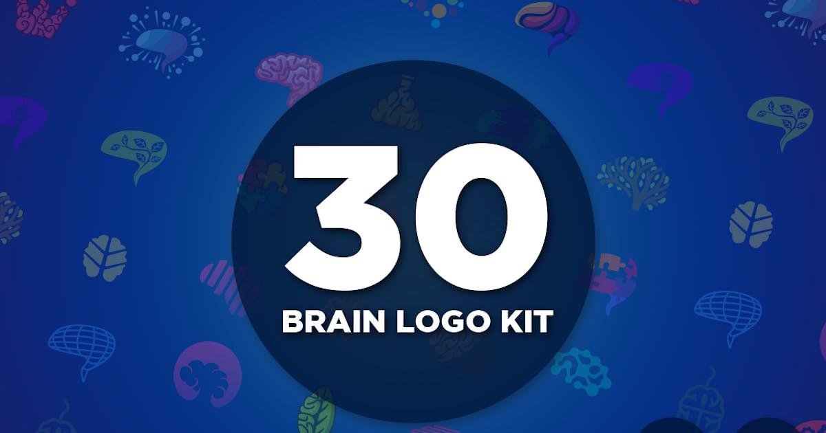 Download 30 Brain Logo Kit by Suhandi