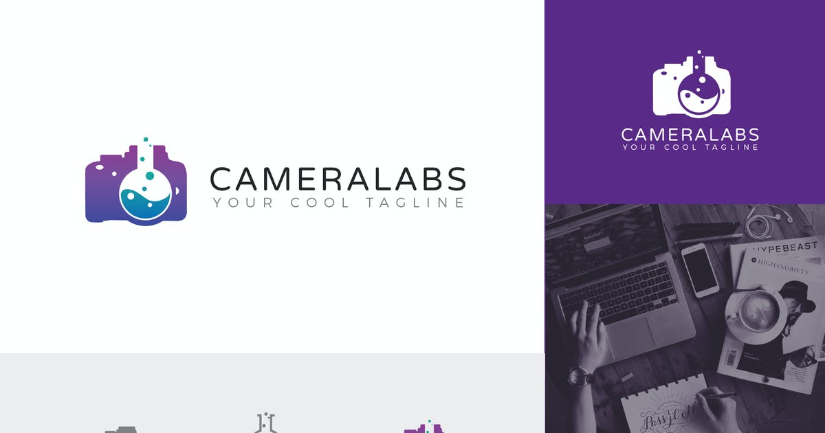 Download Cameralabs Corporate Logo Vector Template by naulicrea
