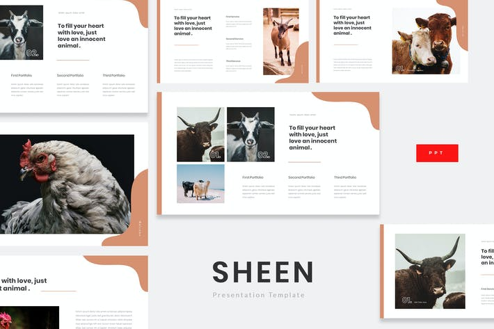 Thumbnail for Sheen - Animal Farm Powerpoint Template