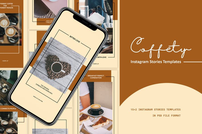 Thumbnail for Coffety Instagram Stories