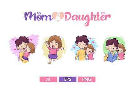 Mamá y hija