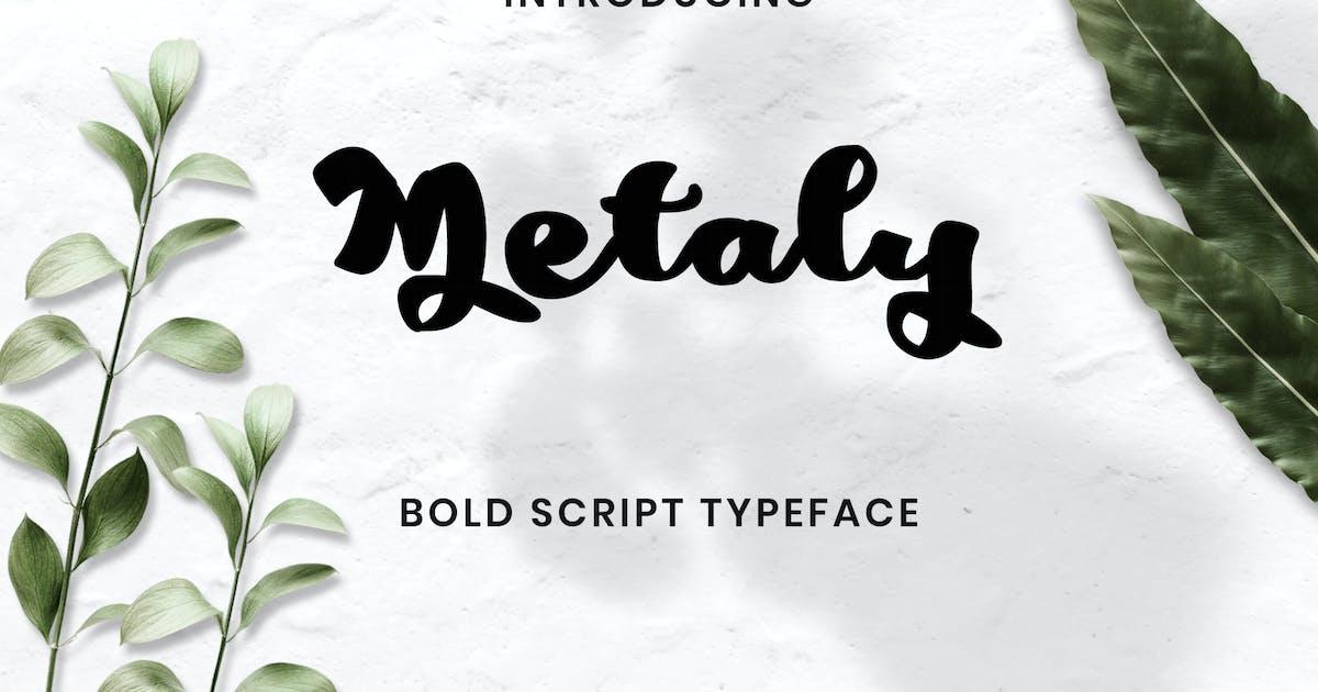 Download Metaly Modern Script Font by ovozdigital