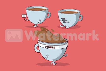 Кофейный персонаж