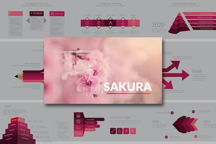 All the templates you can download envato elements outline powerpoint presentation by andrewkras thumbnail for sakura keynote toneelgroepblik Gallery