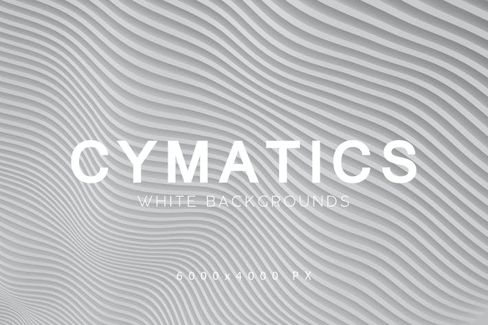 Thumbnail for Cymatics White Backgrounds