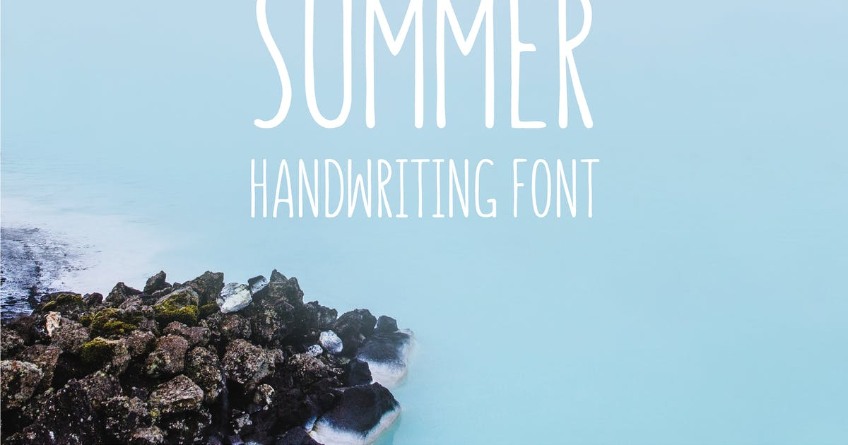 Download Summer - Handwriting Font by WildOnes
