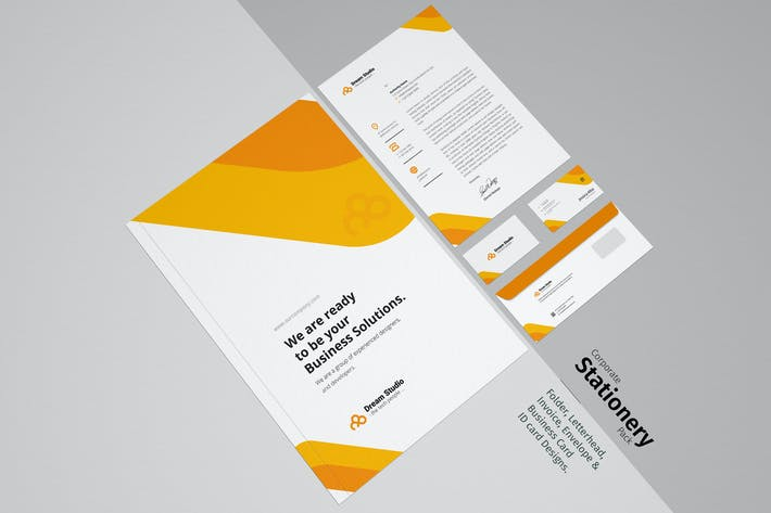 Thumbnail for Corporate Stationery Pack