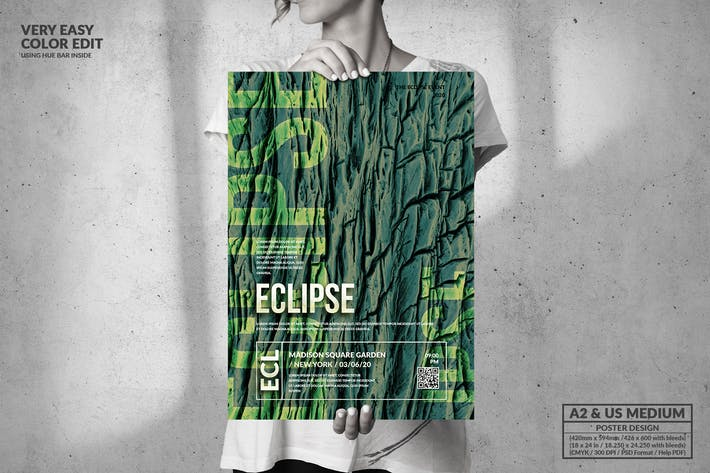 Thumbnail for Eclipse - Großes Posterdesign