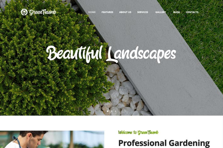 Thumbnail for Green Thumb | Gardening & Landscaping Services WP