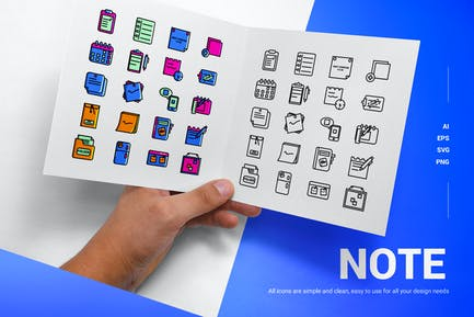 Note - Icons