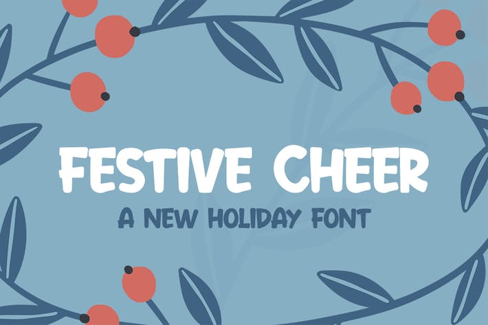 Thumbnail for Font de Cheer festive