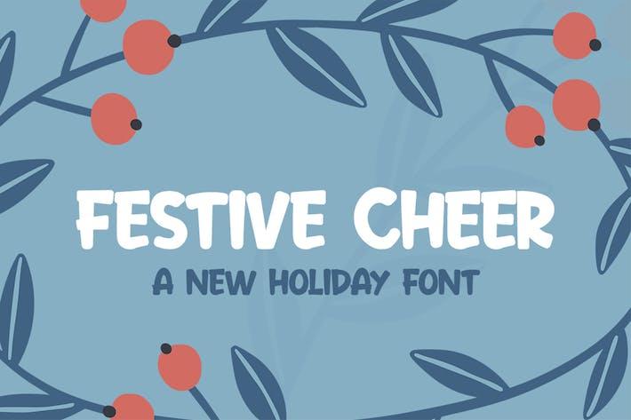 Thumbnail for Festive Cheer Font