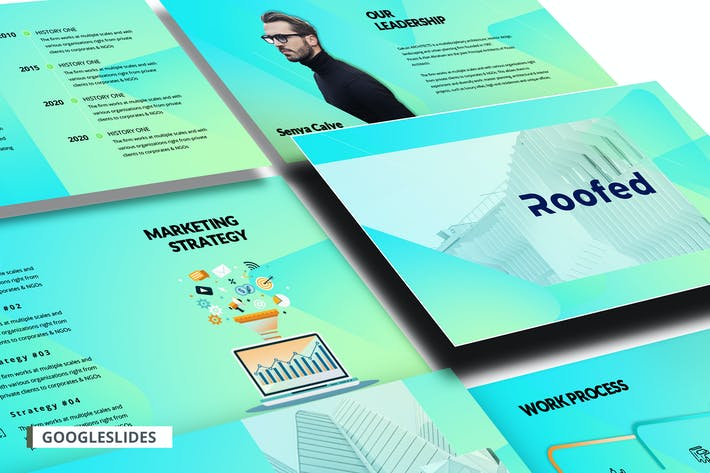 Thumbnail for Corporate GoogleSlides Template
