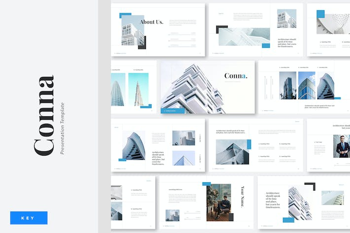 Thumbnail for Conna - Building Construction Keynote Template