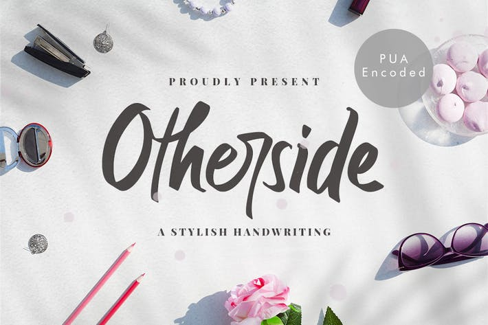 Thumbnail for Otherside - Police d'écriture élégante