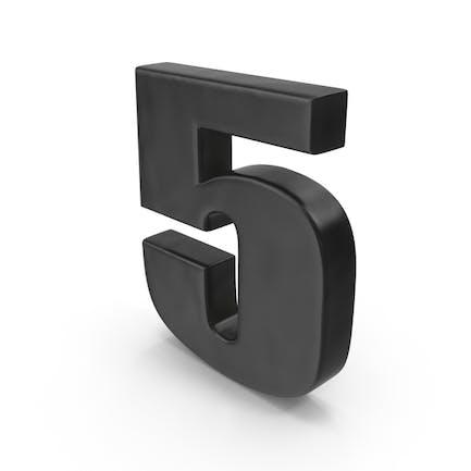 Imán para nevera número 5