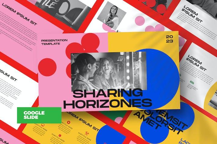 Thumbnail for Horizones Google Slide Business Corporate