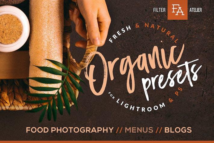 Thumbnail for Organic Food Presets for Desktop & Mobile