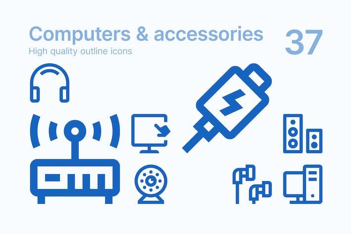 Thumbnail for Icons für Computer und Zubehör