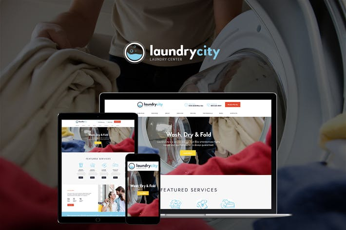 Thumbnail for Laundry City | Dry Cleaning & Washing Services