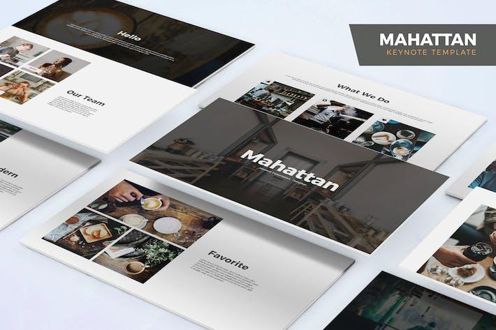 Cover Image For Mahattan - Шаблон Keynote
