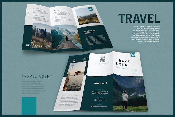 Thumbnail for Modern Minimalist Travel Agent - Brochure