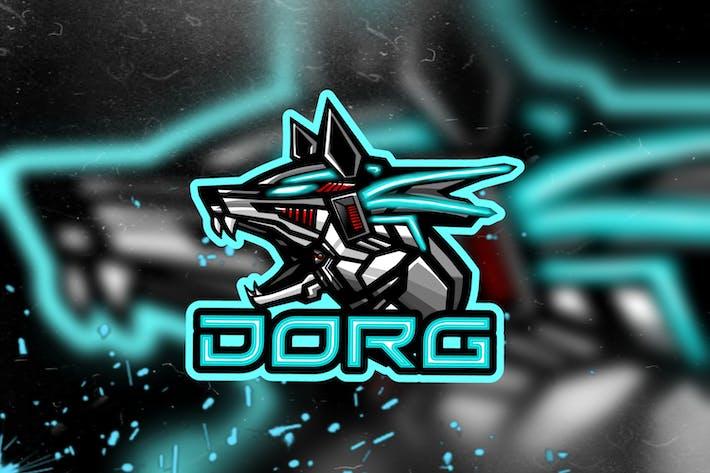 Thumbnail for Dorg - Esports Logo Template