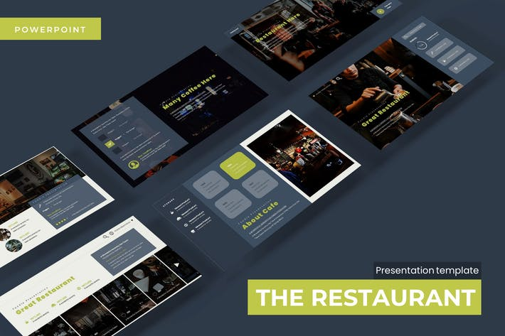 Thumbnail for The Restaurant - Powerpoint Template