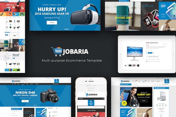 Thumbnail for Jobaria - Responsivo Prestashop Tema