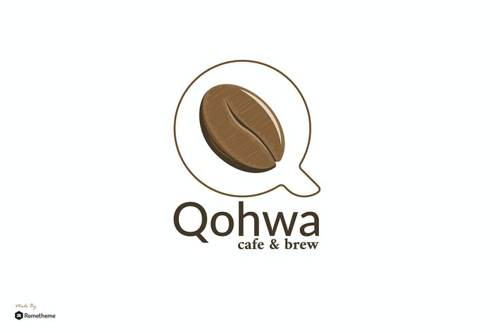 Thumbnail for Qohwa - Cafe and Brew Logo Template RB