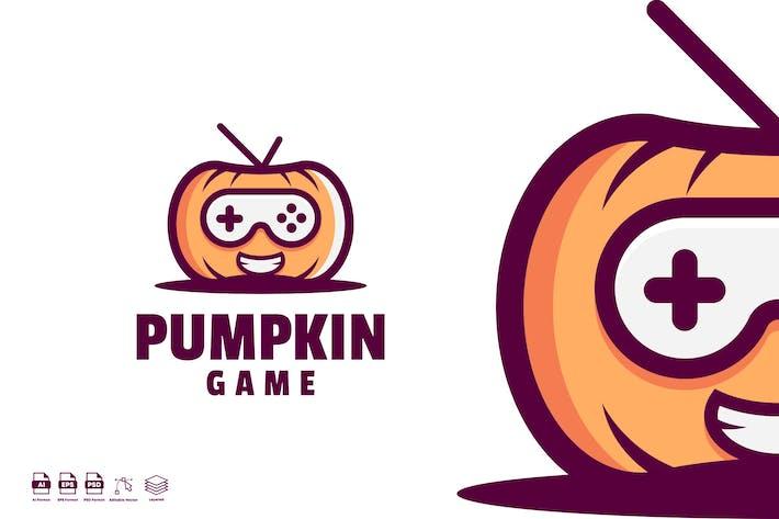 Thumbnail for pumpkin game logo template
