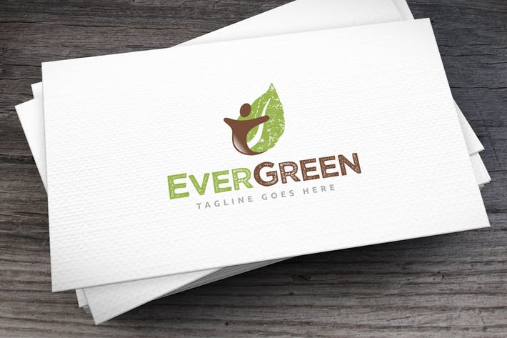 Evergreen Logo Template