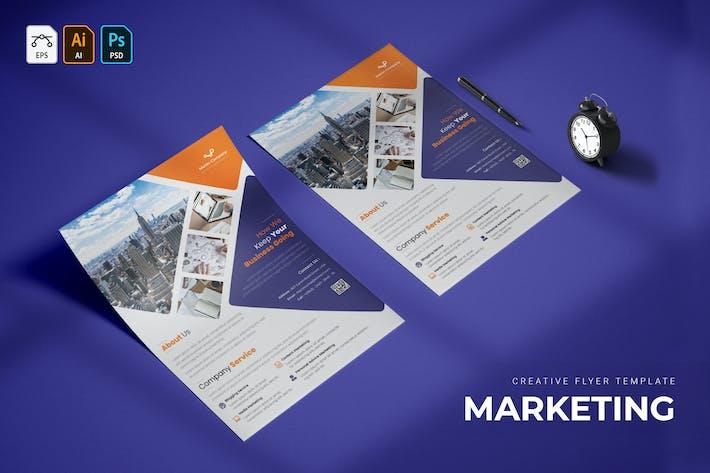 Thumbnail for Marketing | dépliant