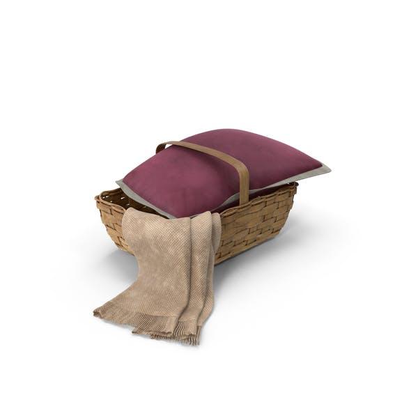 Thumbnail for Basket Wtih Pillow