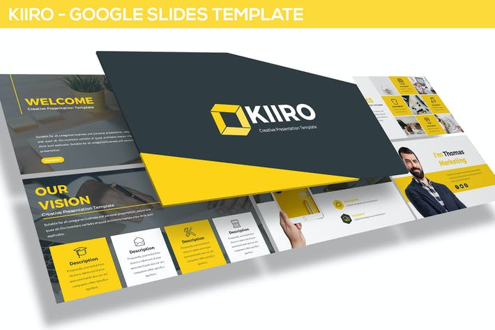 Thumbnail for KIIRO - Google SlidesTemplate