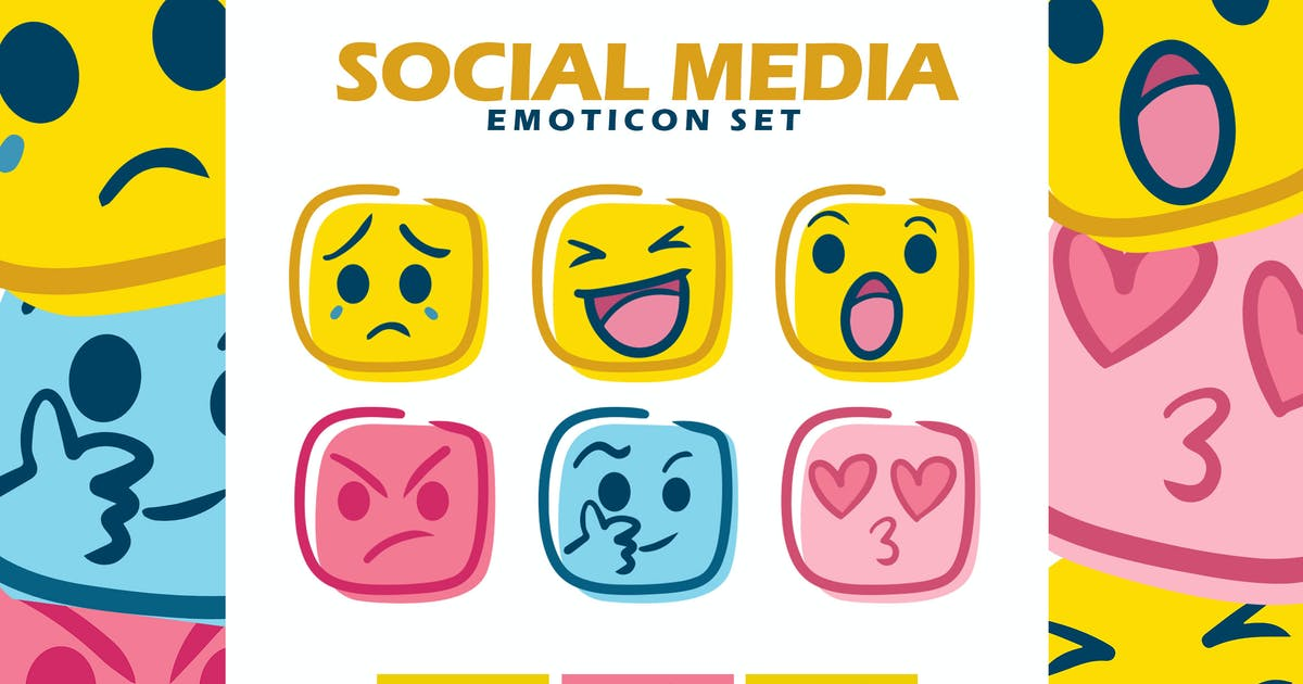 Download Social Media Emoticon Set by khurasan