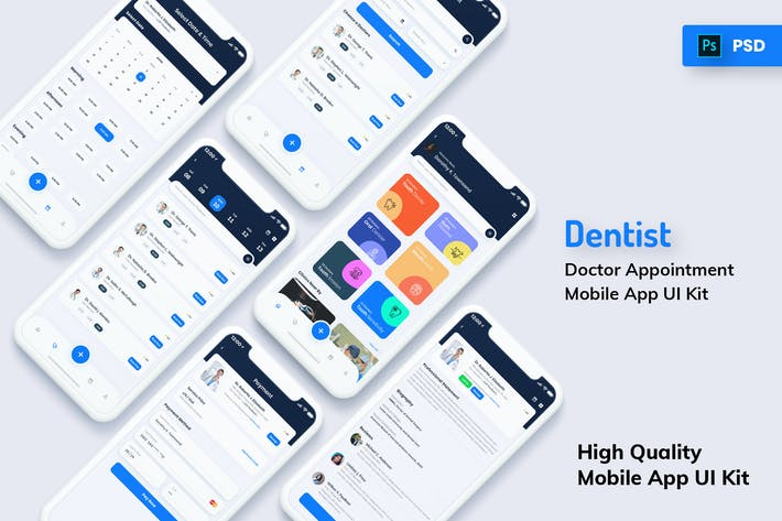 Thumbnail for Dentist Appointment Mobile App Light Version