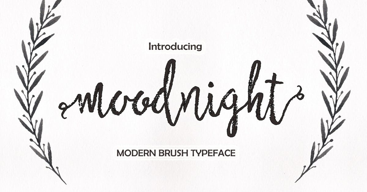 Moodnight Script by Areatype