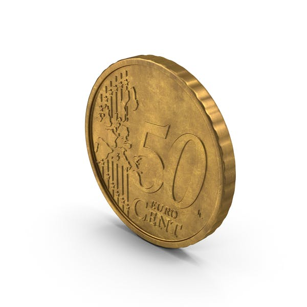 Thumbnail for German 50 Cent Euro Coin Aged