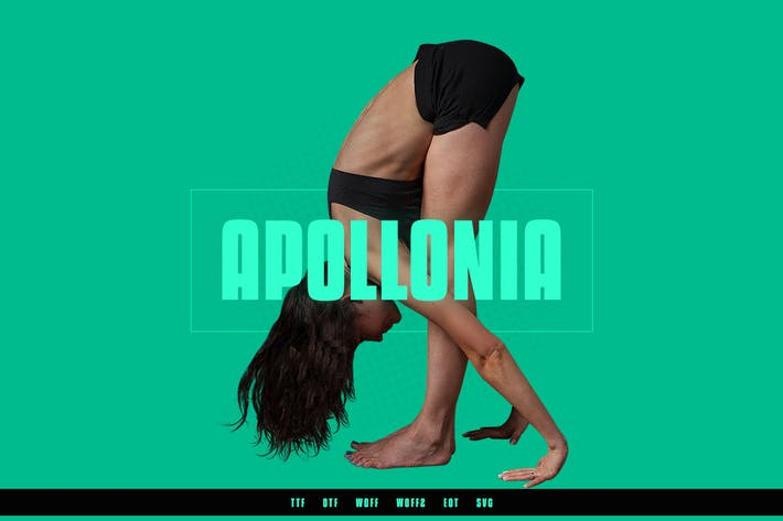 Thumbnail for Apollonia - Modern Typeface + WebFonts