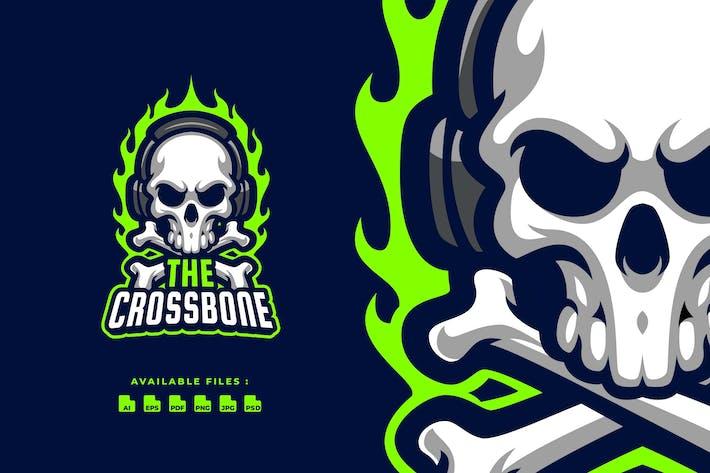 Thumbnail for Crossbone Sport and Esport Logo