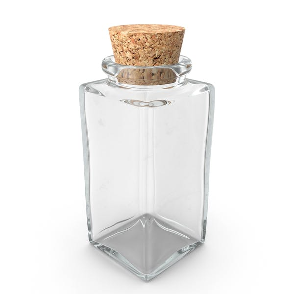 Thumbnail for Glass Jar with Cork Stopper